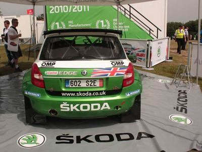 Skoda Fabia S2000 has beed a huge hit in the IRC series