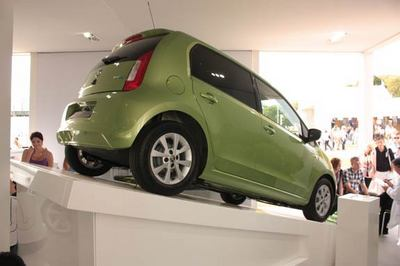 UK show debut for the new Skoda Citigo