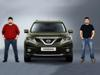 Nissan GYM button allows 'workout-at-the-wheel'