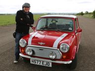MINI news - Brian Johnson takes on Croft in his Mini