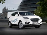 Hyundai news - First Hyundai ix35 Fuel Cell arrives in the UK