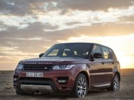 Car News - Range Rover News - Range Rover Sport sets desert crossing record
