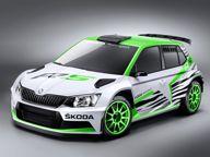 Car News - Skoda News - Skoda reveals Fabia R 5 rally car concept