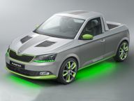 Car News - Skoda News - Skoda FUNstar pickup concept set for Worthersee