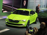Car News - Skoda News - Skoda VisionC debuts in Geneva