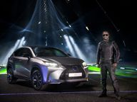 Lexus news - will.i.am and Lexus create Laser and sound spectacular